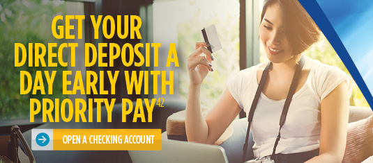 Open an SCCU Checking Account Today!