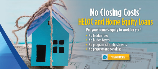 Home Equity Loans with No Closing Costs